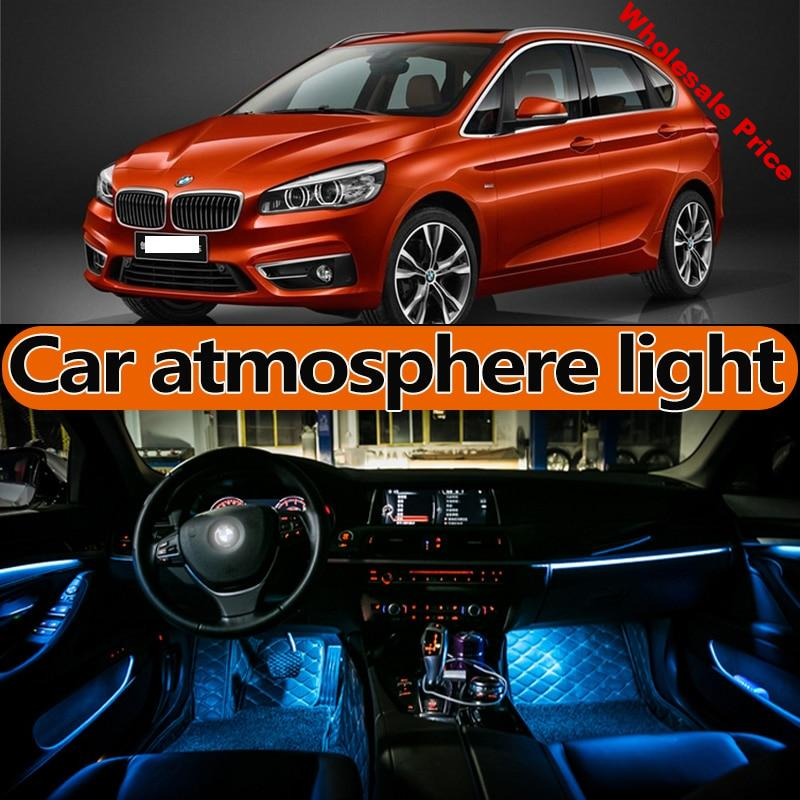 for BMW 2-series 218 220 225 230 240 F22 F23 F44 F45 F46 atmosphere lamp foot light door light LED Modification accessories