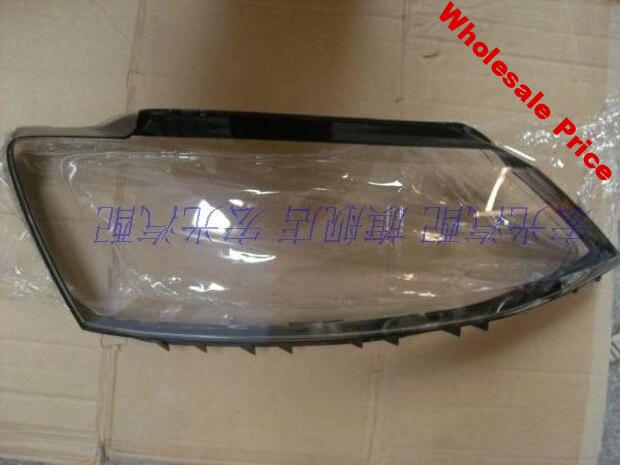 DLAND OWN FOR 2012-2014 SAGITAR HEADLIGHT COVER HEADLAMP HOUSING ASSEMBLY SHELL TRANSPARENT LAMPSHAPE CLEAR LENS