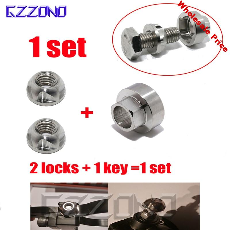 Security Anti Theft Screws Nuts Bolts M6 M8 M10 316 Stainless Steel Lamp Holder Car Accessories For Car Styling LED Lights