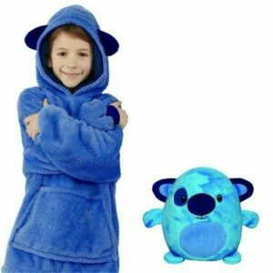 Winter Kid's Lovely Pets Shape Warm Comfy Pajama Sweatshirt Pullover With Hat