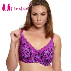 Mierside 953P Push Up Bra Plus size Sexy Large Bra lingerie Lace Underwear for Women Everyday Bralette 34-46 C/D/DD/DDD/E/F/G