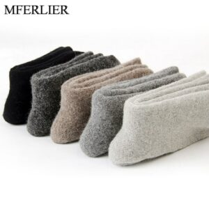 Winter warm socks men fleece men socks thick style