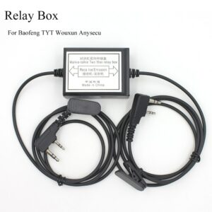 New design Repeater box  for Two way Radio BAOFENG TYT WOUXUN KIRISUN HYT Relay Box DIY Repeater for Walkie talkie