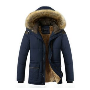 Men 2019 Winter New Casual Warm Thick Parkas Men New Luxury Outwear Windproof Waterproof Hooded Parkas Coat Men