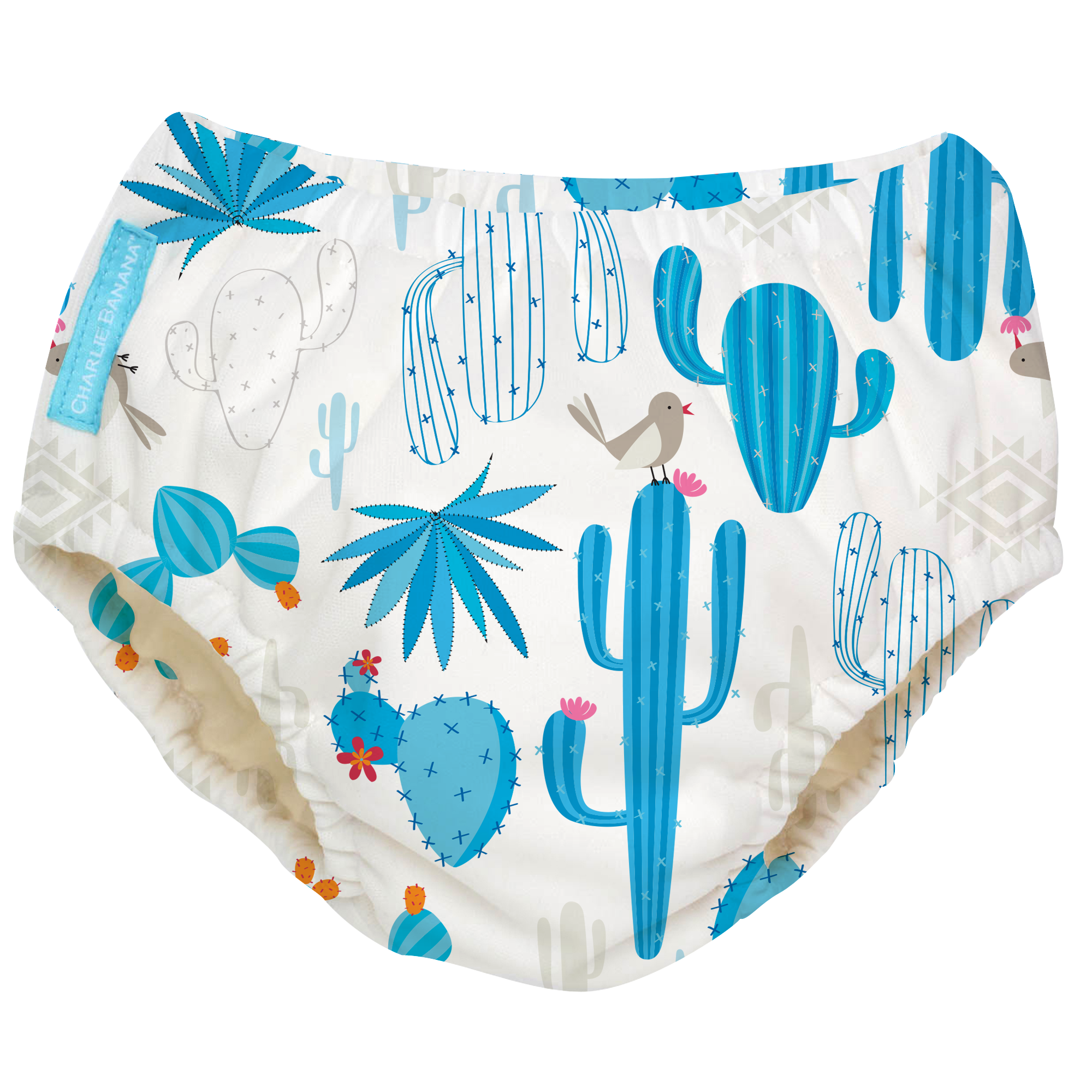 2-in-1 Schwimm- und Töpfchenhose Cactus Azul