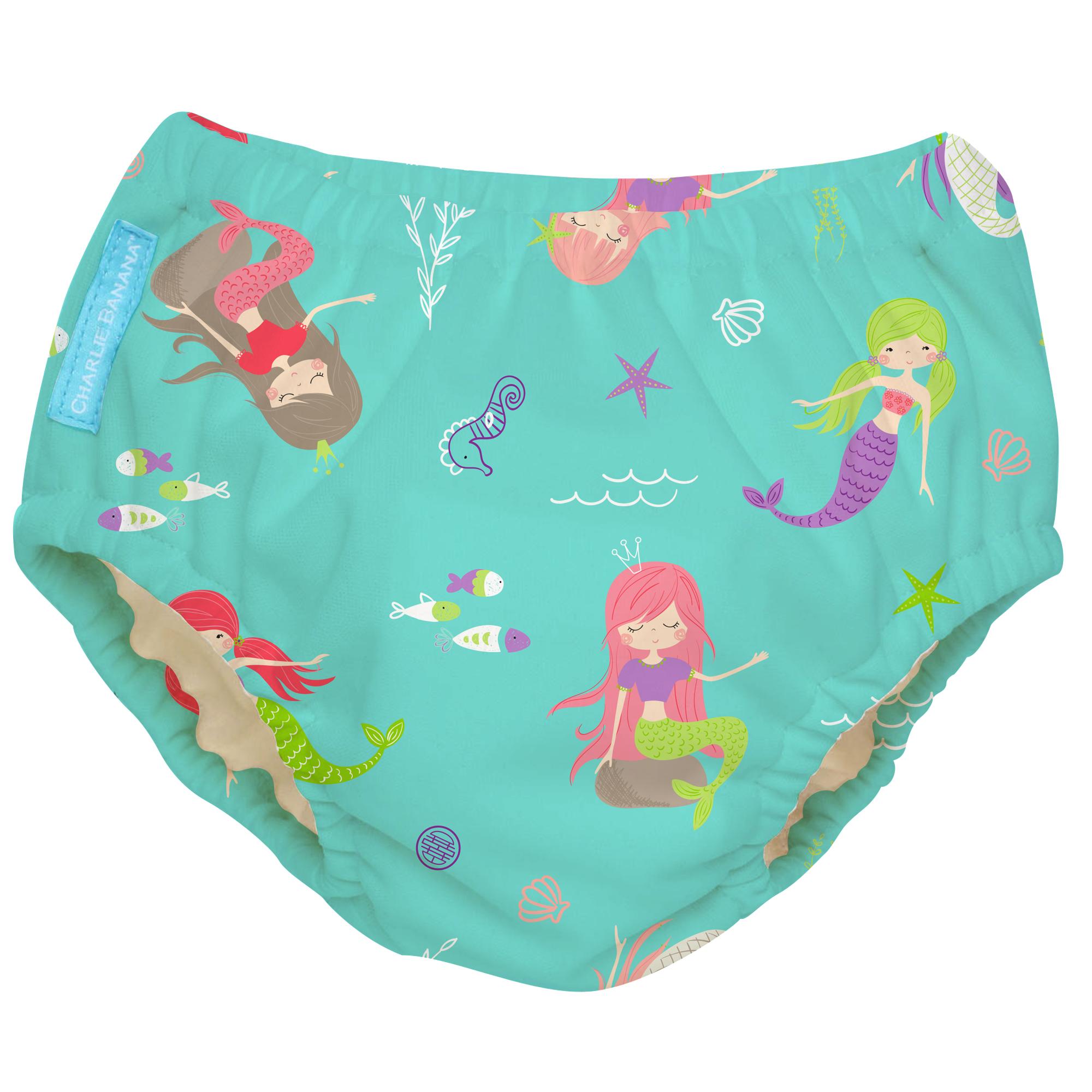 2-in-1 Schwimm- und Töpfchenhose Mermaid Jade