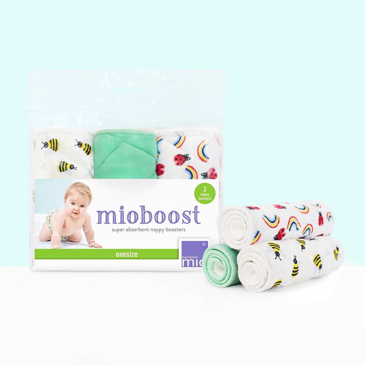 Bambino Mio mioboost, Windeleinlagen 3er-Pack Bienenstock