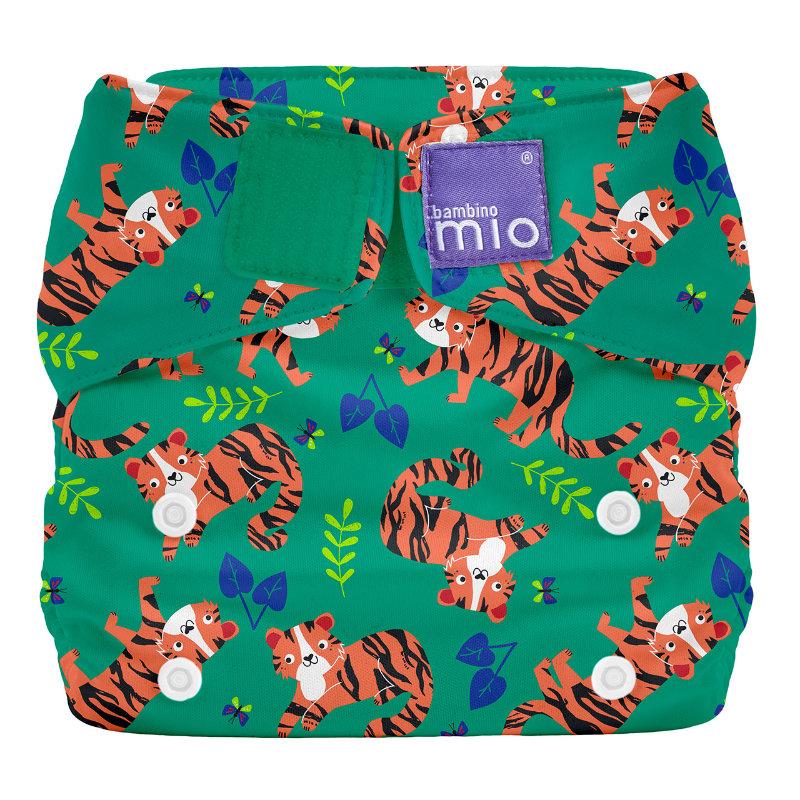 Bambino Mio Miosolo AIO Stoffwindel Tiger Tango Safari