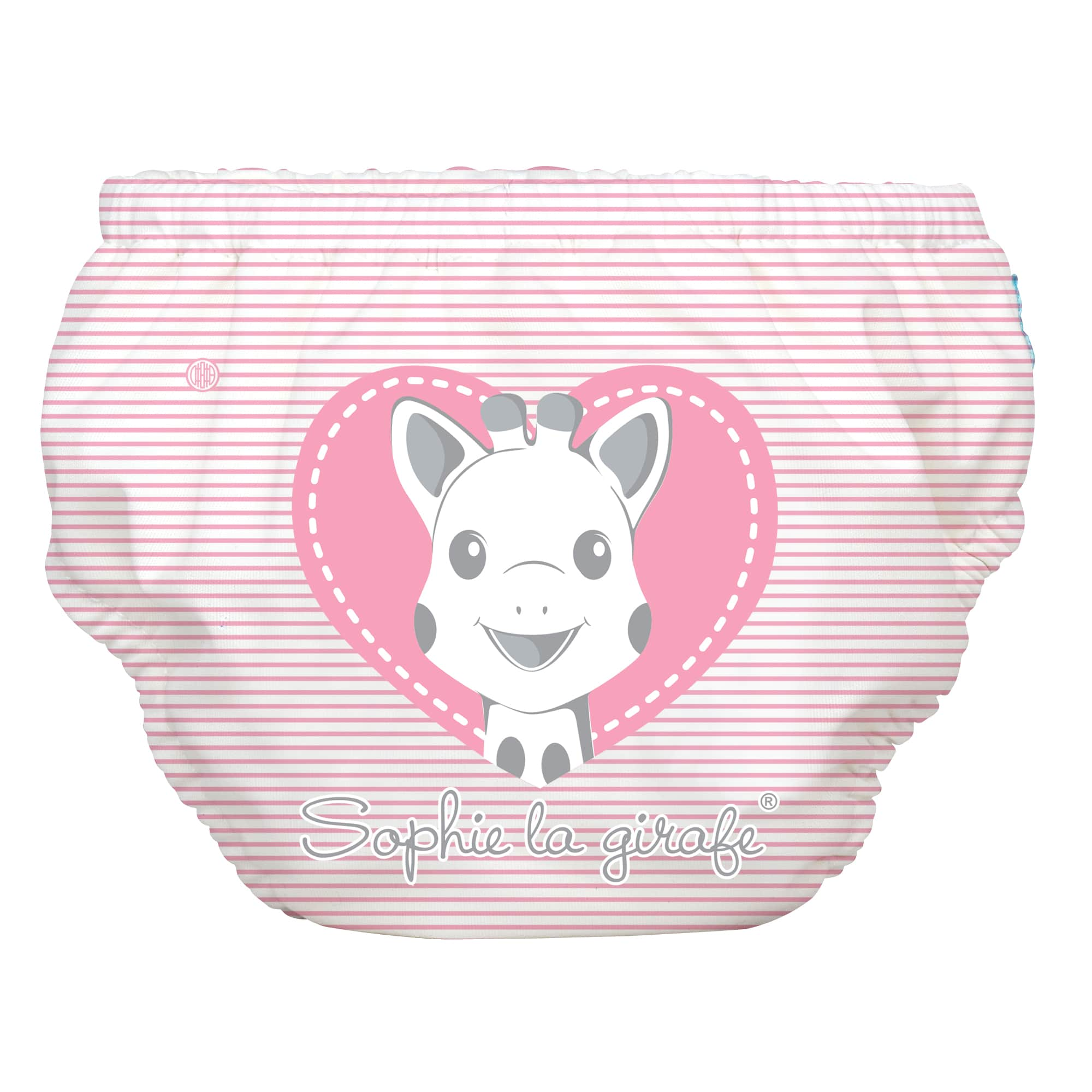 2-in-1 Schwimm- und Töpfchenhose Sophie Pencil Pink Heart
