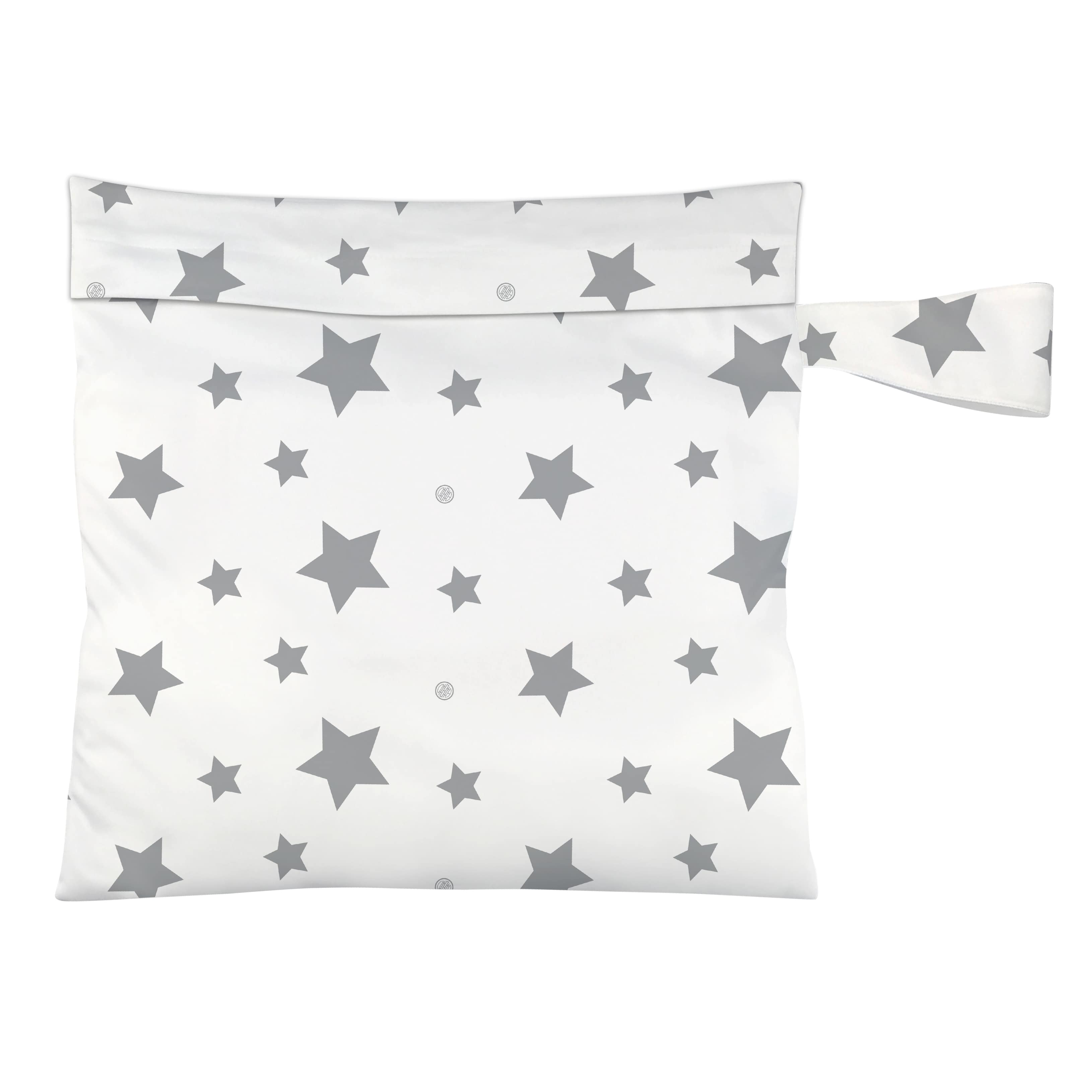 Windelbeutel Twinkle Little Star Grey