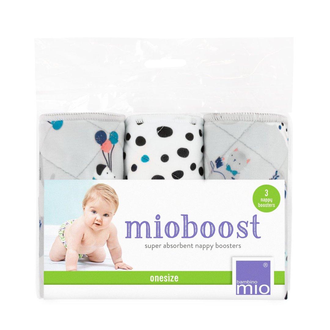 Bambino Mio mioboost, Saugeinlagen 3er-Pack Flauschige Freunde