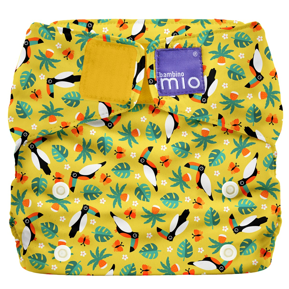Bambino Mio Miosolo AIO Stoffwindel Tropischer Tukan