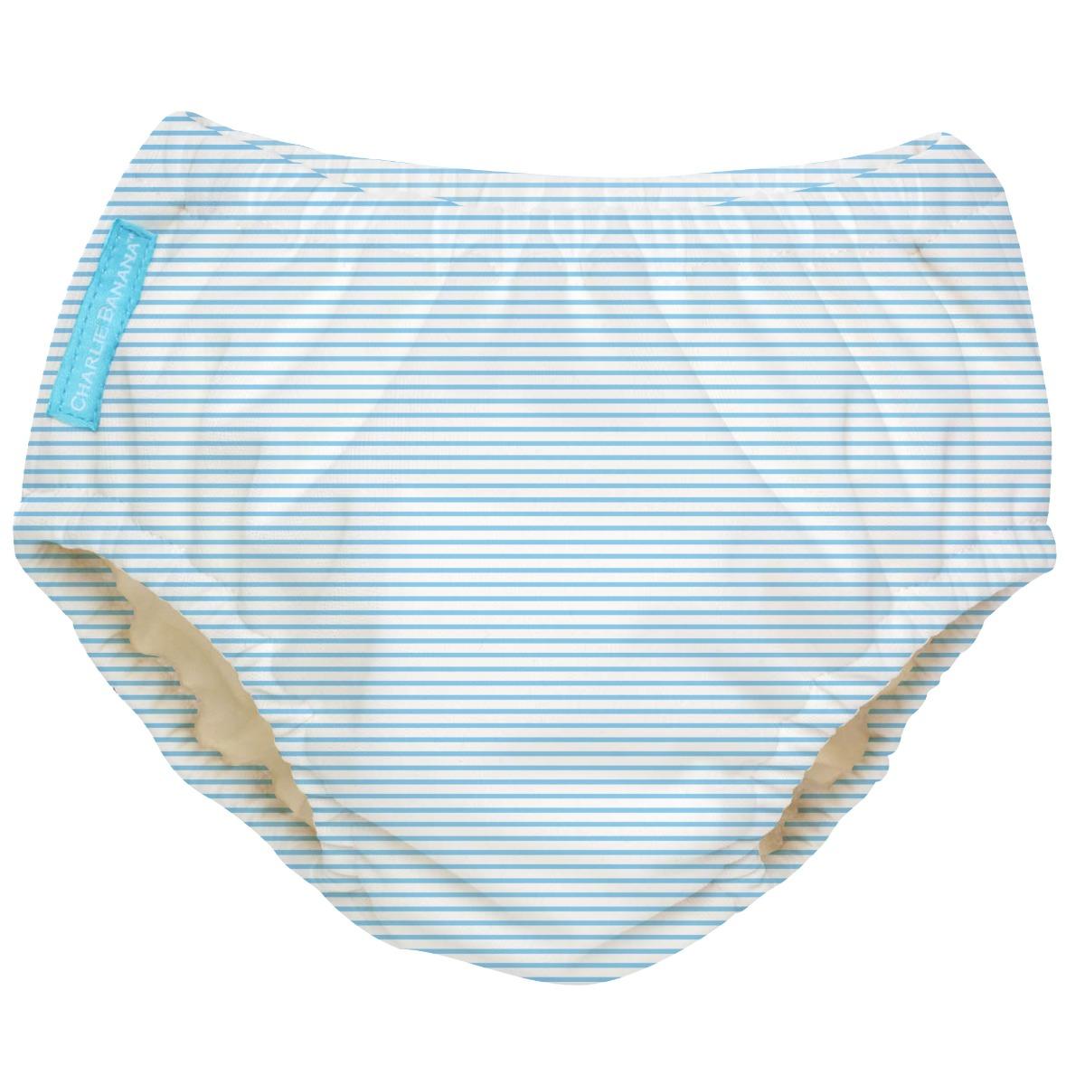 2-in-1 Schwimm- und Töpfchenhose Pencil Stripes Blue