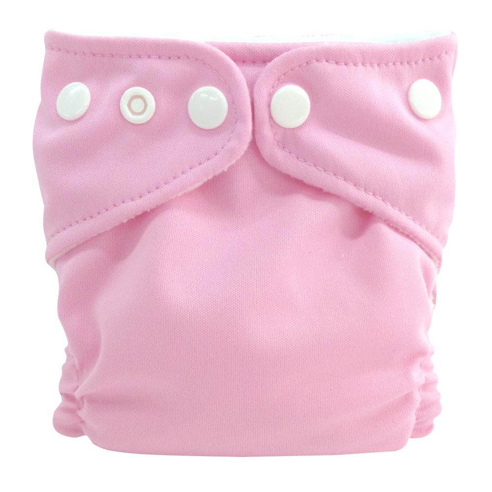 Charlie Banana Stoffwindel Newborn - Baby Pink
