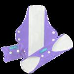 Wiederverwendbare Slipeinlagen Lavender