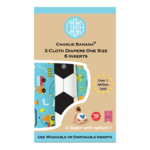 Charlie Banana Stoffwindeln - My First Diaper 3er-Pack