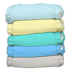 "Charlie Banana ""My First Diaper"" - Pastel 5er-Pack"