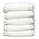 Charlie Banana - All White 5er-Pack