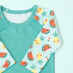 Bade-Shirt mit UV-Schutz Tropical Punch Süss