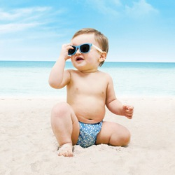 Bambino Mio Schwimmwindel Ozeanstropfen