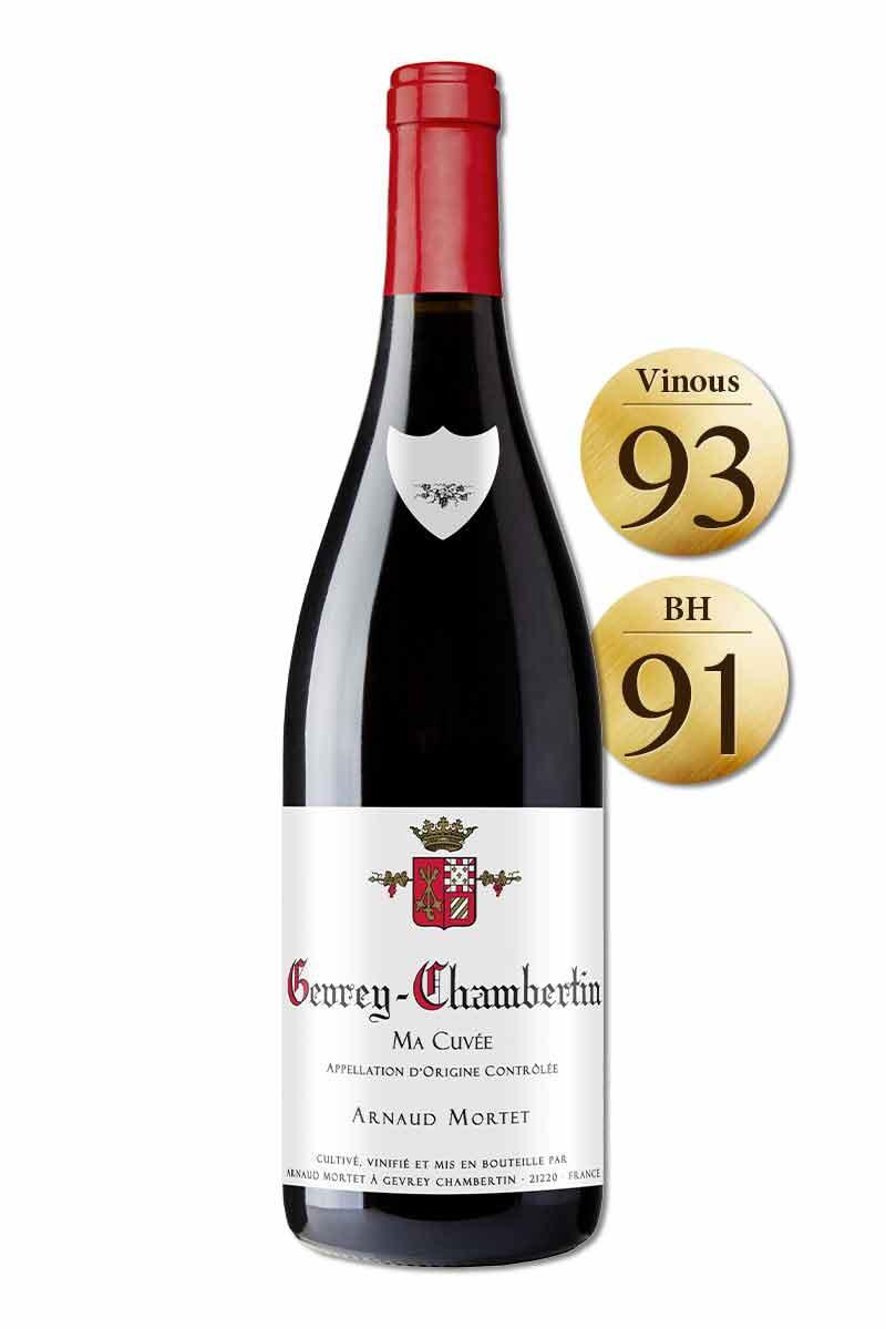 法國 布根地 紅酒 > 阿諾莫泰酒莊 哲維瑞香貝丹紅酒 2018