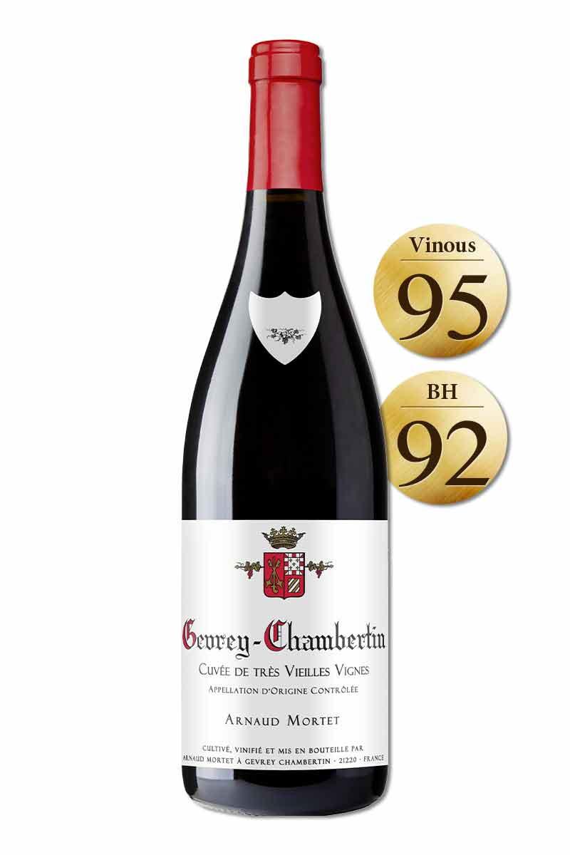 法國 布根地 紅酒 > 阿諾莫泰酒莊 哲維瑞香貝丹老藤紅酒 2018