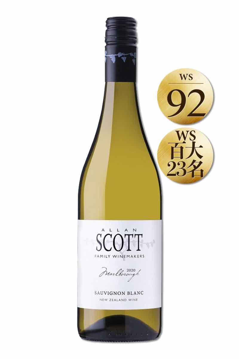 紐西蘭 白酒 > 史考特酒莊 白蘇維濃特級白酒六瓶組 2020