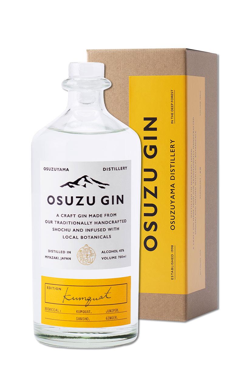 日本 琴酒 > 尾鈴山蒸餾所 尾鈴山 琴酒 Osuzu Gin 金柑限定版 700ml