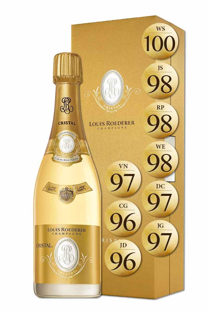 法國 香檳 > 路易侯德爾 年份水晶香檳 2002 禮盒版