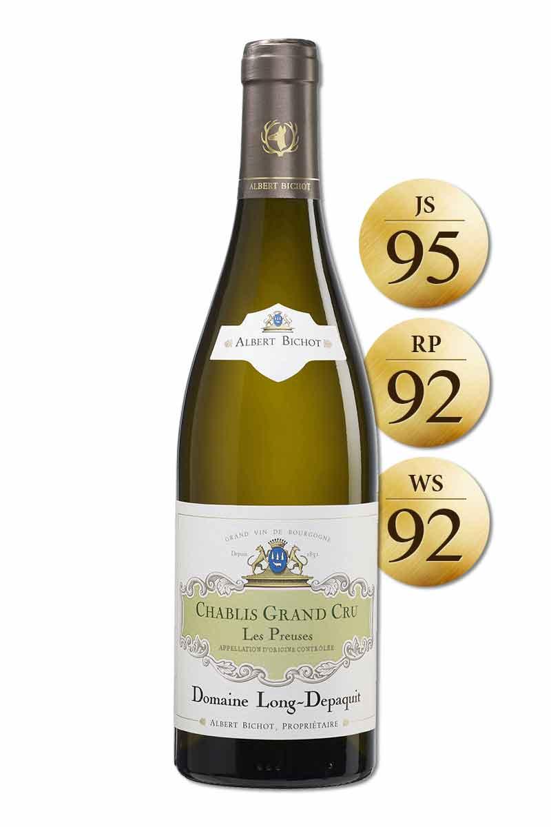 法國 布根地 白酒 > 隆得帕克莊園 夏布利特級園普爾日園白葡萄酒(熱銷完售)