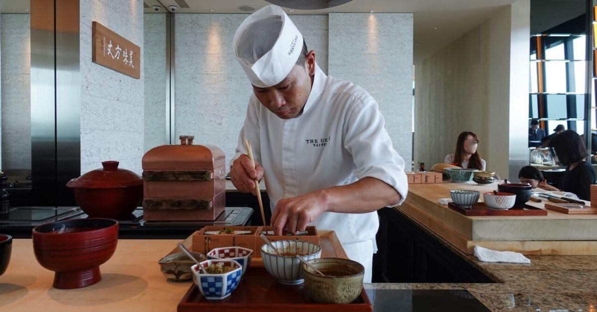 【老饕嚴選】信義區微風南山景觀餐廳 - The Ukai Taipei 日式割烹料理
