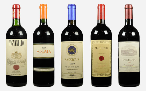 Tutorial wine sassicaia what 00