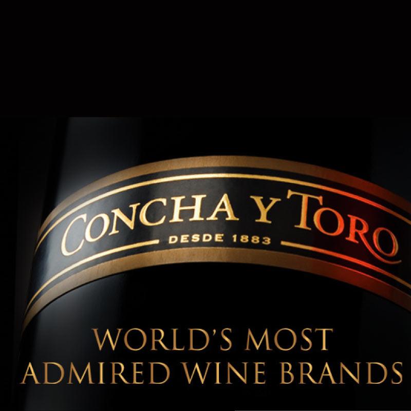 Concha y toro menu