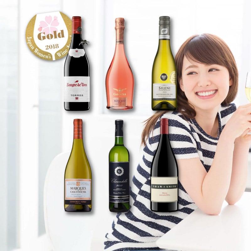 女子最愛!日本女性最推的金賞葡萄酒