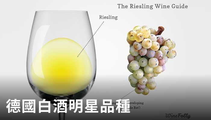 超人氣白葡萄,麗絲玲,白葡萄,水果香氣,riesling