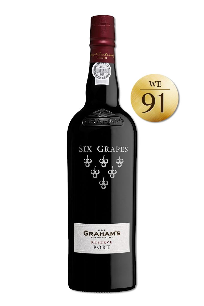 六顆葡萄 精選紅寶石波特酒