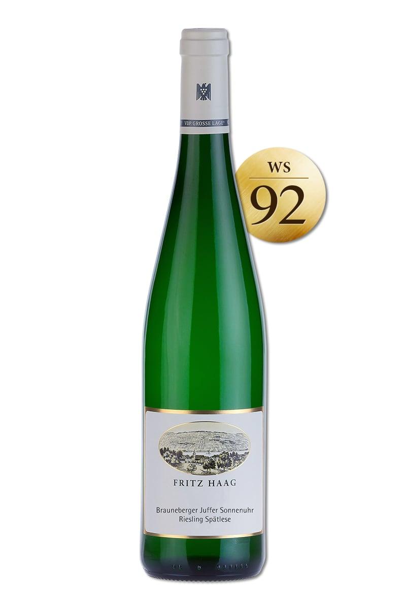 德國 白酒 > 弗利茲哈格酒莊 棕山日晷園晚摘甜白酒 2017
