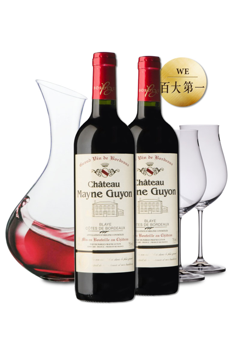 百大第一紅酒 x 醒酒器酒杯超值組