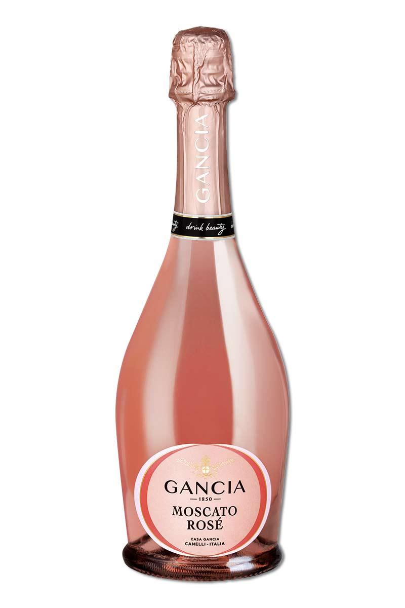 義大利 氣泡酒 > 崗夏酒莊 莫斯卡托粉紅氣泡酒 無年份
