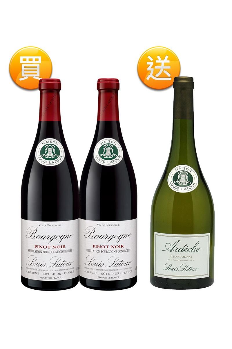 路易拉圖 布根地黑皮諾紅葡萄酒(剩最後 5 組)