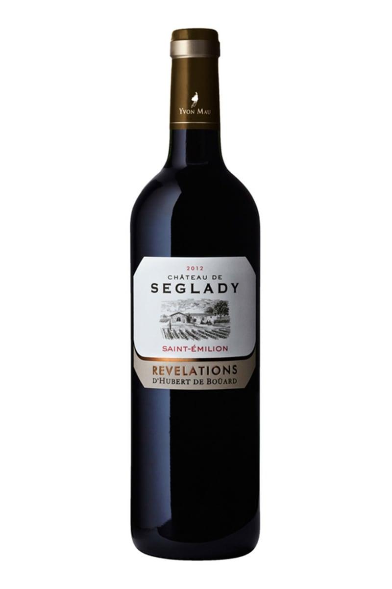 法國賽格帝堡精釀紅酒 2012