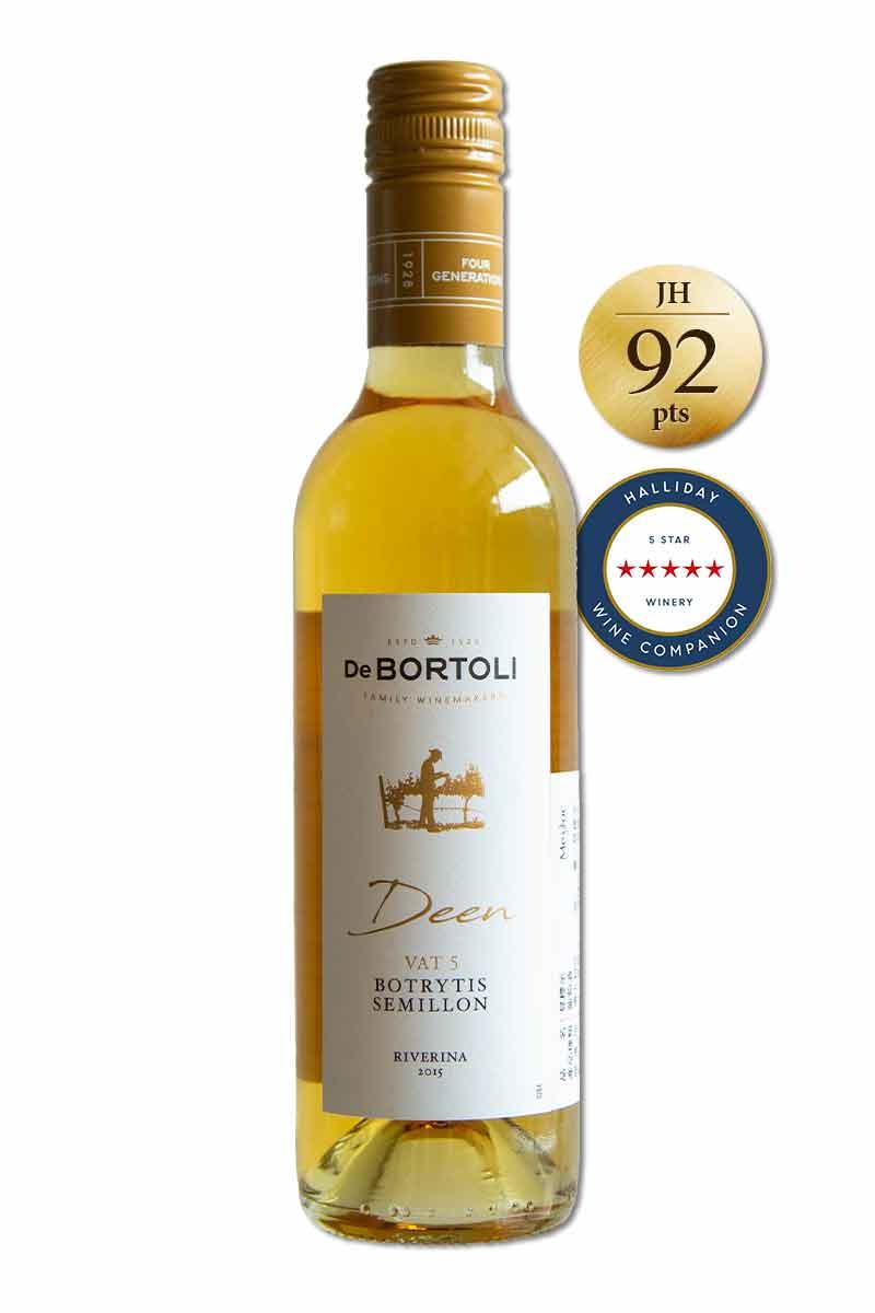 澳洲 貴腐酒 > 迪恩 5 號桶榭密雍貴腐甜白酒 2015 (375 ml)