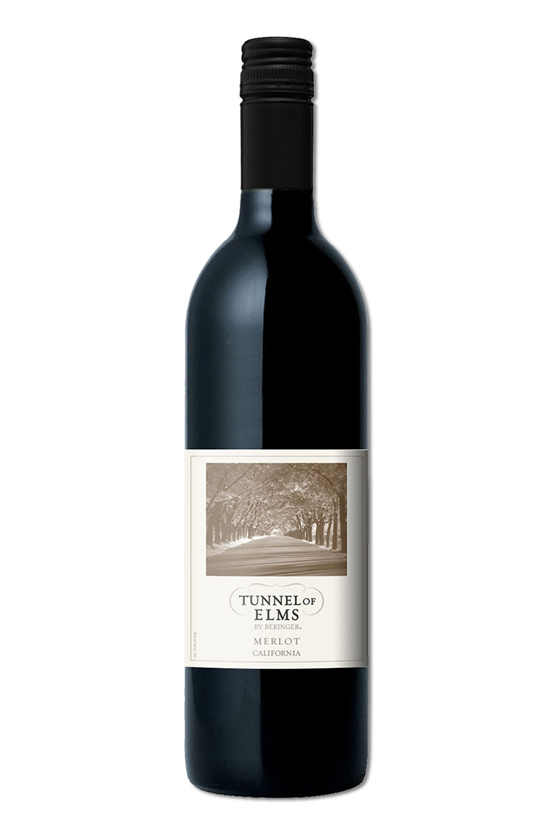 貝林格榆蔭大道梅洛紅葡萄酒