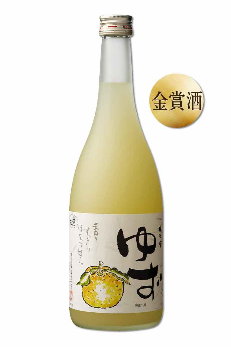 梅乃 宿柚子酒 720ml