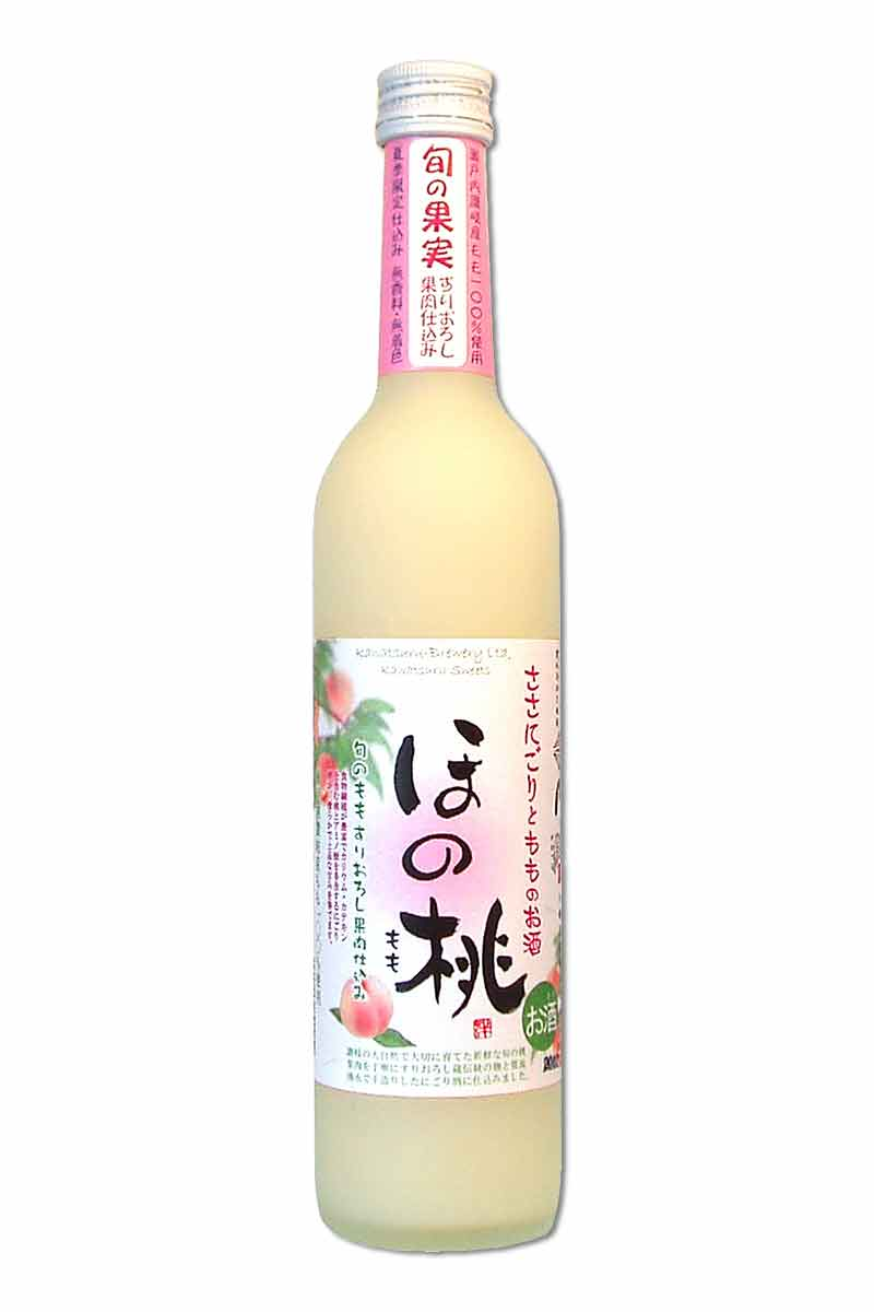 川鶴 桃子酒 500ml