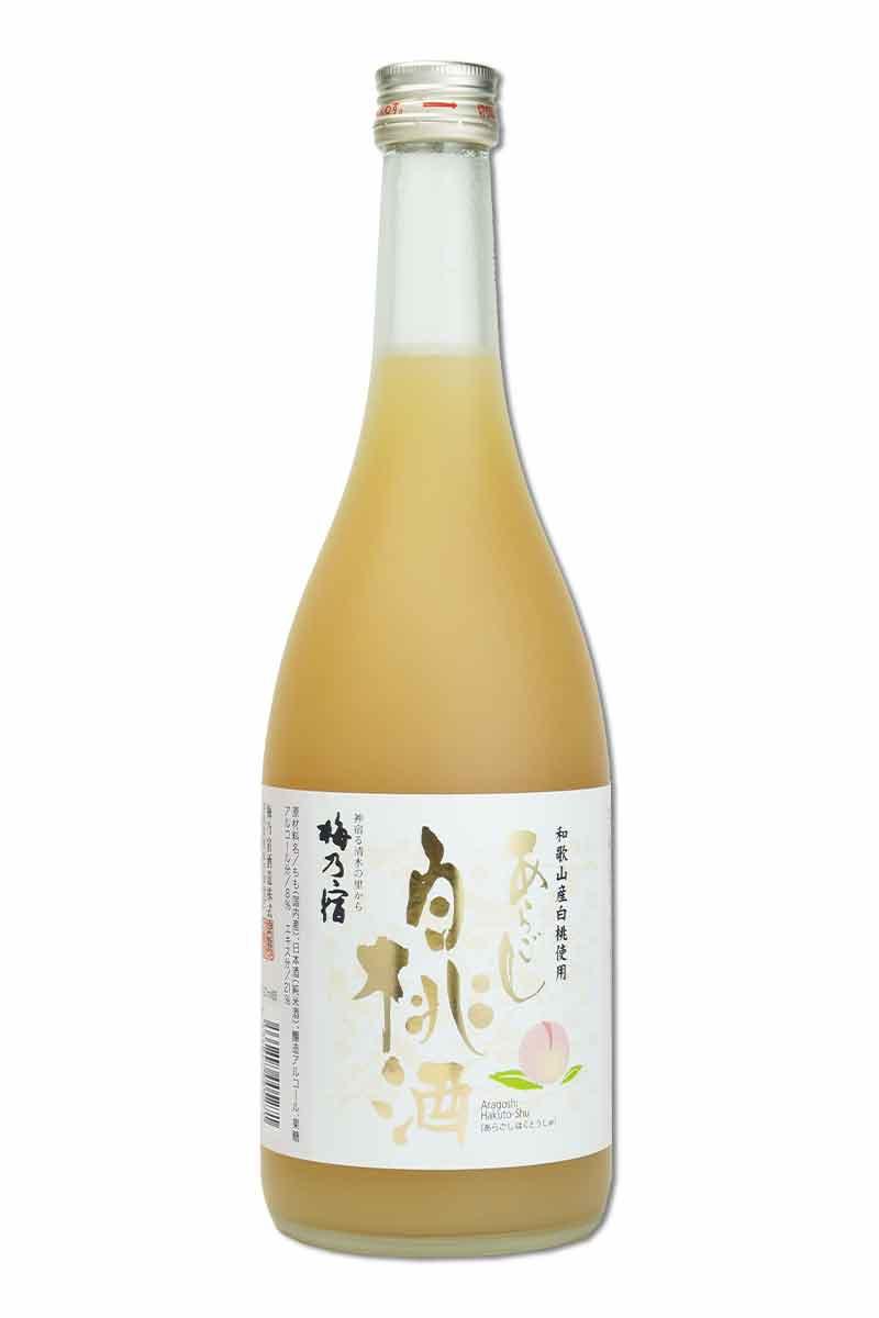 梅乃宿 細果粒白桃酒 720ml (完售)