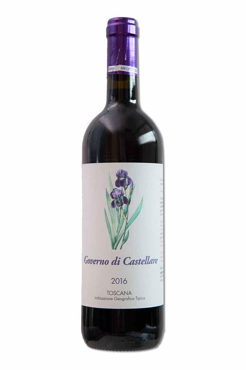 義大利 托斯卡納 紅酒 > 卡斯泰利酒莊 紫蝶花 紅酒 2016
