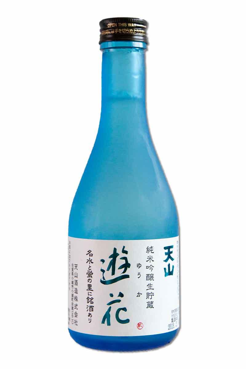 天山 遊花 純米吟釀生貯 300ml(熱銷完售)