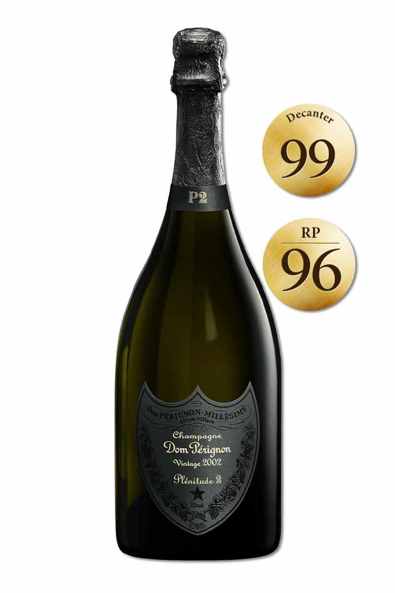法國 香檳 > 香檳王 P2 2002 髮絲紋黑禮盒版(限量六瓶)