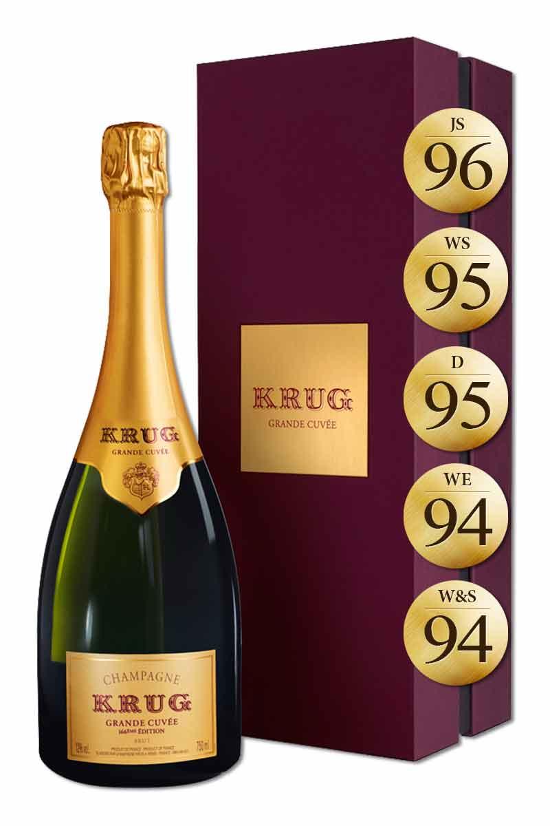 法國 香檳 > 庫克香檳 經典陳年不甜香檳 禮盒版